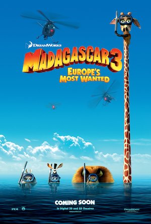 Madagascar 3: Europe's Most Wanted 3375x5000