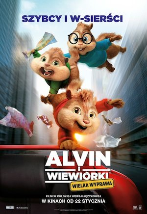 Alvin and the Chipmunks: The Road Chip 500x727
