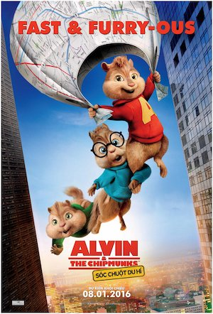 Alvin and the Chipmunks: The Road Chip 1000x1473