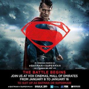 Batman v Superman: Dawn of Justice 1080x1080