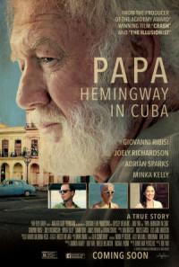 Papa Hemingway in Cuba poster