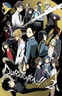 Durarara!!x2 poster