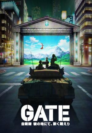 Gate: Jieitai Kanochi nite, Kaku Tatakaeri 560x802