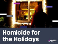 Homicide for the Holidays poster