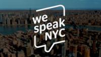 We Speak NYC poster