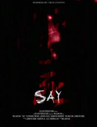 Say poster