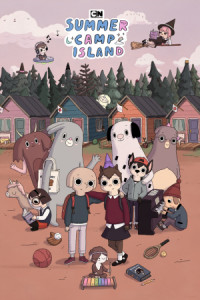 Summer Camp Island poster