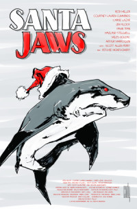 Santa Jaws poster