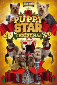Puppy Star Christmas poster