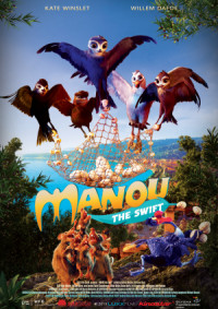 Manou the Swift poster