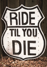Ride til We Die poster