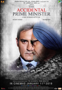 The Accidental Prime Minister poster