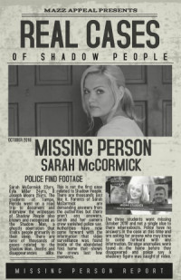 Real Cases of Shadow People The Sarah McCormick Story poster