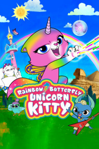 Rainbow Butterfly Unicorn Kitty poster