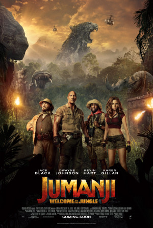 Jumanji: Welcome to the Jungle 3375x5000