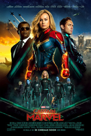 Captain Marvel 2700x4000