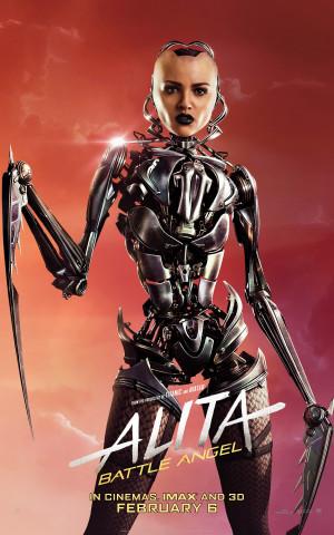 Alita: Battle Angel 4320x6912