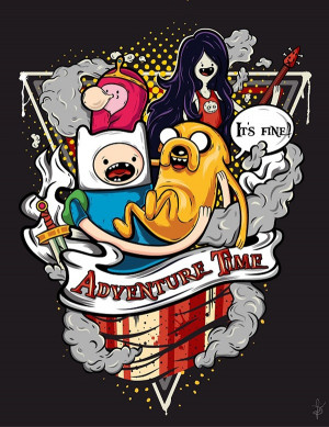 Adventure Time with Finn & Jake 600x777
