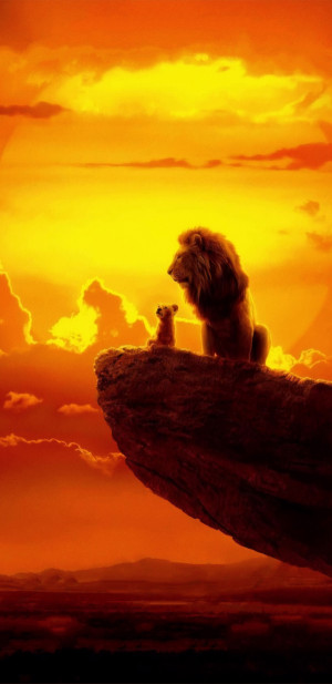 The Lion King 1440x2960