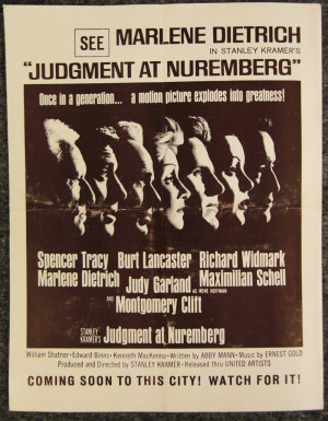 Judgment at Nuremberg 1100x1411
