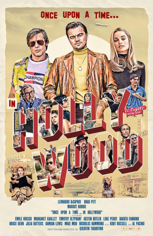 Once Upon a Time... in Hollywood 700x1080