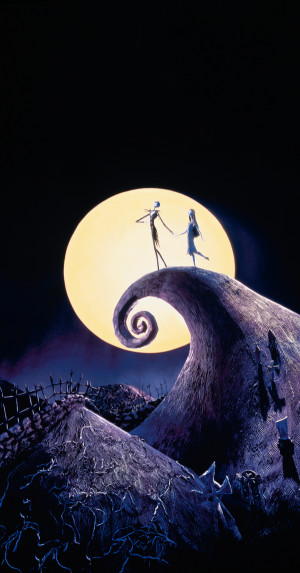 The Nightmare Before Christmas 2619x5000