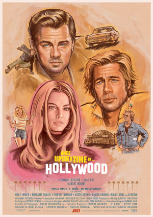 Once Upon a Time... in Hollywood 1500x2122