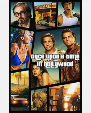 Once Upon a Time... in Hollywood 864x1080