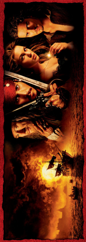 Pirates of the Caribbean: The Curse of the Black Pearl 1067x3000
