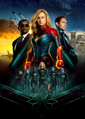 Captain Marvel 4950x6900