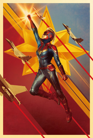 Captain Marvel 4050x6000