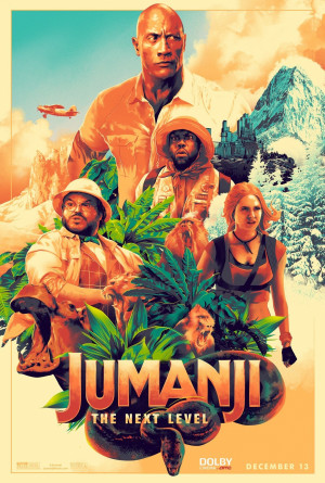 Jumanji: The Next Level 1381x2048