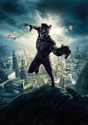 Black Panther 4650x6600