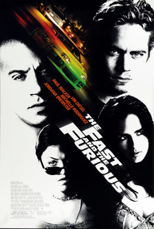 The Fast and the Furious 3092x4598