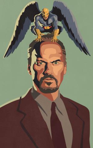 Birdman oder (Die unverhoffte Macht der Ahnungslosigkeit) 2500x4000