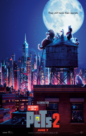 The Secret Life of Pets 2 2526x4000