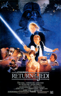 O Retorno de Jedi poster