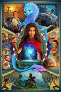 Raya e o Último Dragão poster