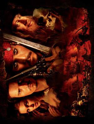 Pirates of the Caribbean: The Curse of the Black Pearl 3260x4312