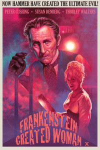 Frankenstein Created Woman poster
