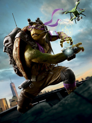 Teenage Mutant Ninja Turtles: Out of the Shadows 3722x5000