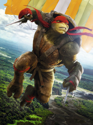 Teenage Mutant Ninja Turtles: Out of the Shadows 3723x5000