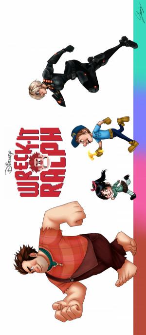 Wreck-It Ralph 1300x2980