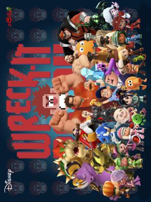 Wreck-It Ralph 1200x1600