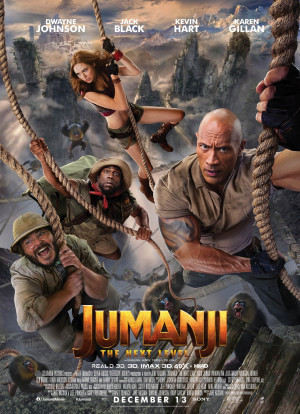 Jumanji: The Next Level 1484x2048